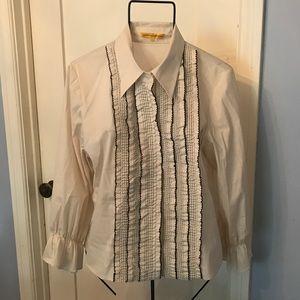 Catherine Malandrino Ruffled Shirt